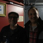 Paco Romane and Bobcat Goldthwait after a performance at Cobb's Comedy Club. LIVE Shakes The Clown reading!