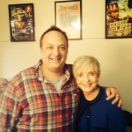 Paco Romane and Florence Henderson at Cobb's Comedy Club for LIVE Shakes The Clown reading!