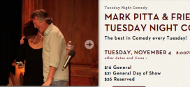 Performing at Mark Pitta and Friends- Tuesday Nov 4