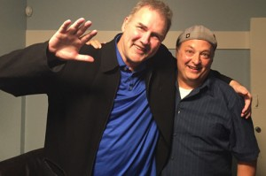 Norm MacDonald and Paco Romane at Cobb's Comedy Club
