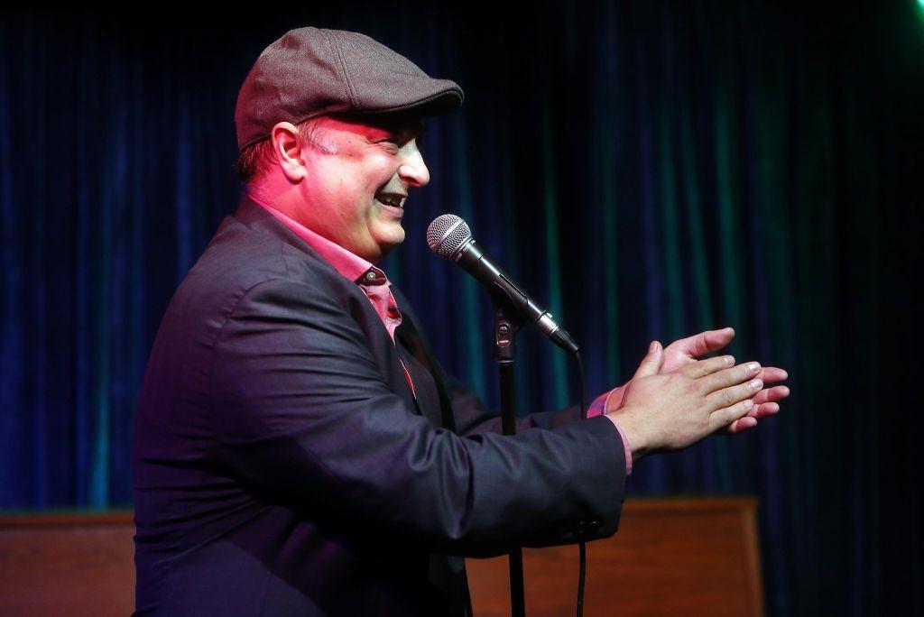 Host Paco Romane at Roast BattleSF photo by Scott Strazzante, The Chronicle