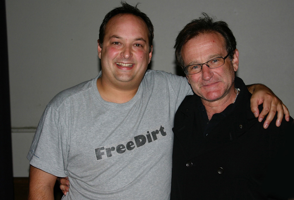 Robin Williams and Paco Romane